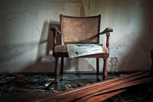 新聞を読まない